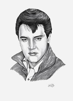 Elvis Presley by Patricia Hiltz