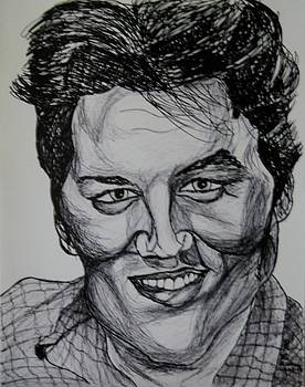 Elvis Presley by Ron Anthony