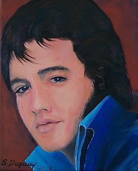 Elvis  by Sharon Duguay