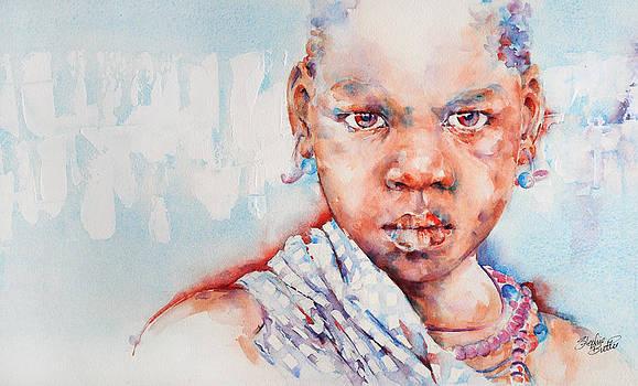 Embolden - African Portrait by Stephie Butler