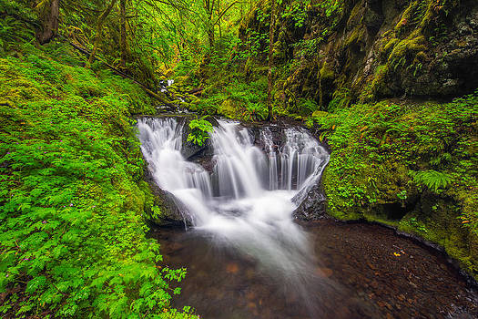 Emerald Falls by Joseph Rossbach