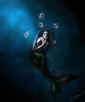 Regina  Williams  - Emerald in the Deep Blue