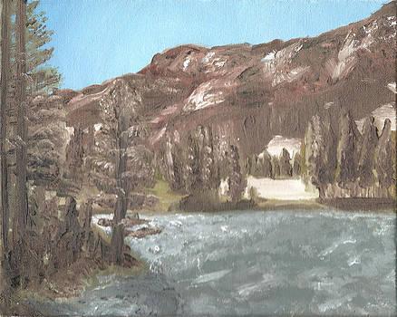 Emerald Lake Study by Jeffrey Oleniacz