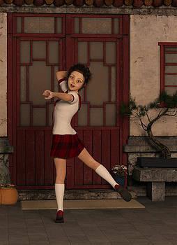 Liam Liberty - Emiko - Japanese Schoolgirl