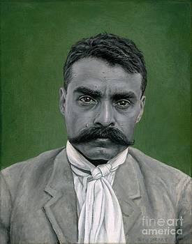 Emiliano Zapata by Stu Braks