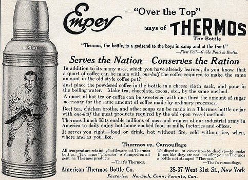 Empey Thermos Ad by Paula Talbert