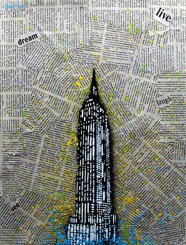 Empire State Bound by Anthony Jensen