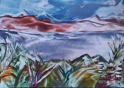 Encaustic Art 2 by Debra Piro