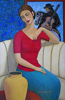 Enchanted Lady 2 by Carlos Sandoval