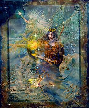 Angel Tarot Card Enchanted Princess by Steve Roberts