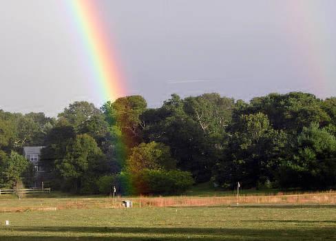 End of Rainbow by Lisa  Marie Germaine