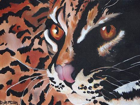 Endangered Cat by Nicole Zoe Miller