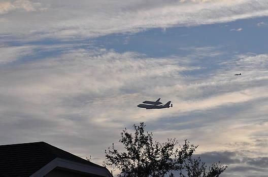 Endeavor Morning Flyover 9 by Russell Libonati