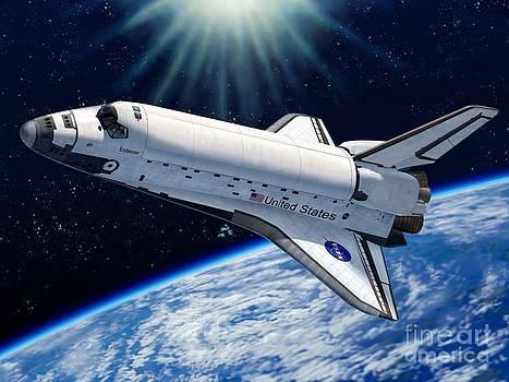 Stu Shepherd - Endeavour In Space