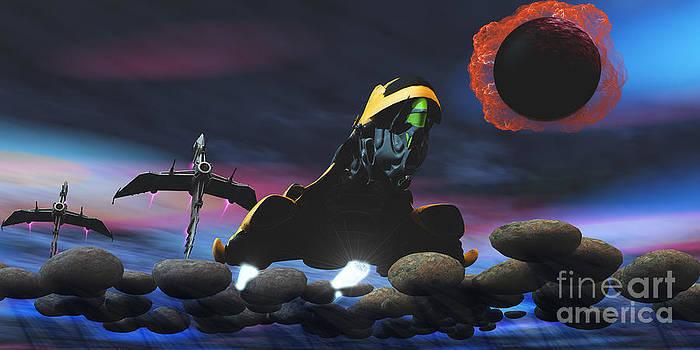 Corey Ford - Enemy Spacecraft