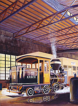 Engine Number 1  Kahalue RR Co. by Don Jusko