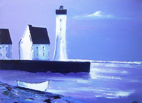 English Coast2 by Gloria Dietz-Kiebron