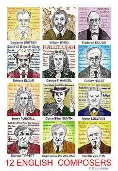 English Composers by Paul Helm