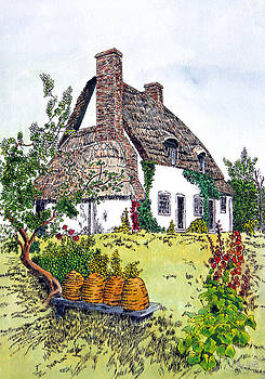 English Country Cottage 2 by John Hebb