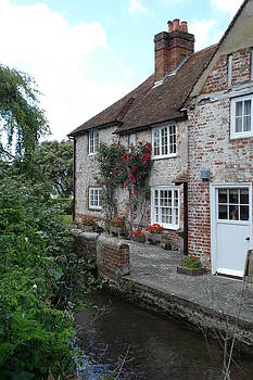 English House by River by Mary Vandenberg