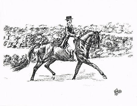 Enjoying Dressage by Joann Renner