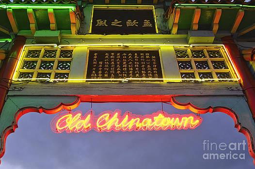 Jamie Pham - Entrance to Los Angeles Chinatown