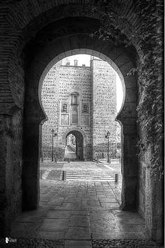 Entrance to the 8th century by Jose Luis Cezon Garcia