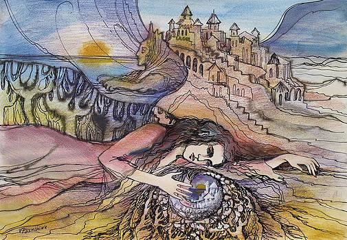 Envisioned City by Valentina Plishchina