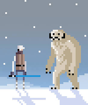 Epic battle in the snow by Michael Myers