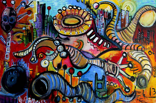 Jon Baldwin  Art - Episode Two Hundred Milligrams