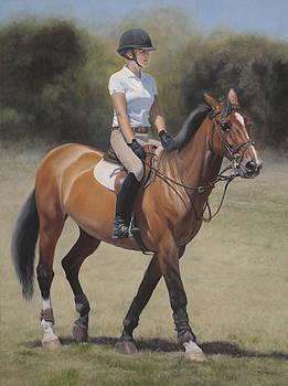 Equestrian Portrait by Terry Guyer