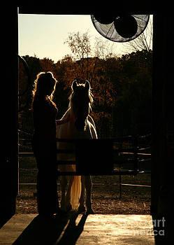 Equestrian Silhouette by Suzi Nelson