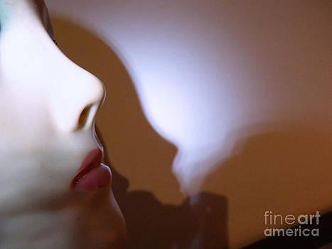 Erotic Woman Face by Eva-Maria Di Bella