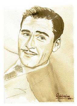 Errol Flynn by David Iglesias