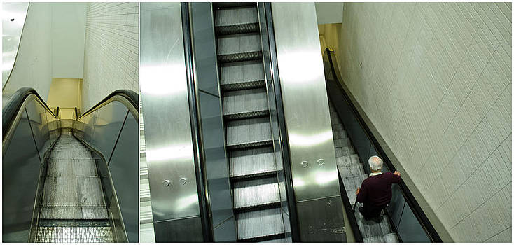 Escalator 23 minutes by Eric Soucy