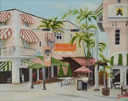 Espanola Way South Beach Florida by Stefon Marc Brown