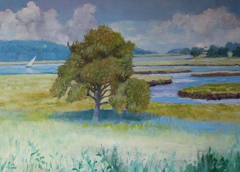 Essex Marsh by Michael McDougall