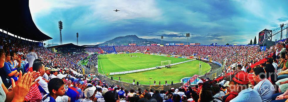 Estadio Tiburcio Carias Andino Tegucigalpa by Kyle Ferguson