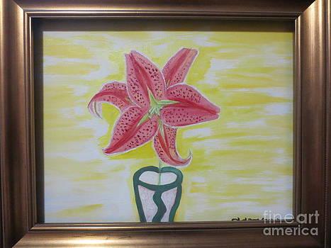 Ester Lily Framed by Sandra Spincola