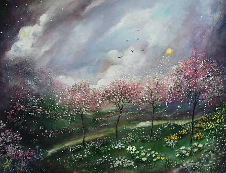 Eternal springtime by Milenka Delic