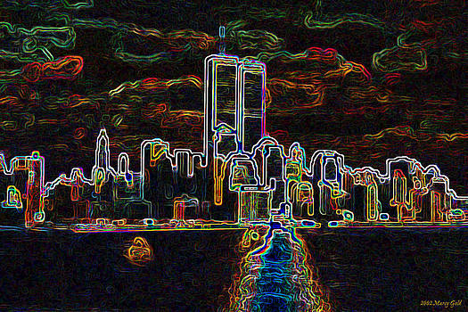 Etheric Manhattan by Marcy Gold