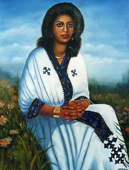 Ethiopian cultural dress. by Samuel Daffa