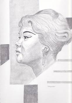 Etta James by Dallas Roquemore