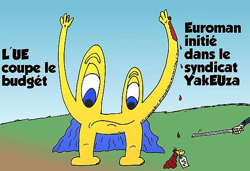 EUroman et le YakUEza by OptionsClick BlogArt