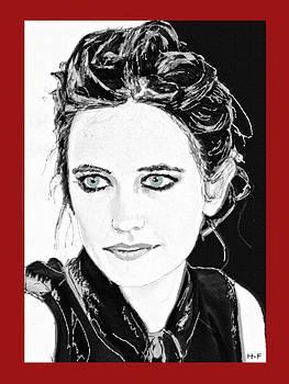 Eva Green by Herbert French