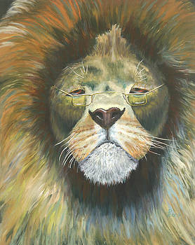 Even Lions Get Old by Peter Bonk