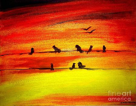 Evening by Asm Ambia Biplob