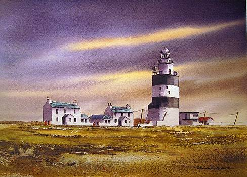 Evening At The Hook by Roland Byrne