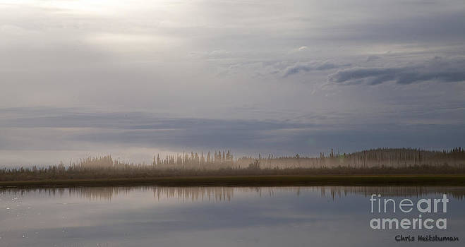Evening fog by Chris Heitstuman