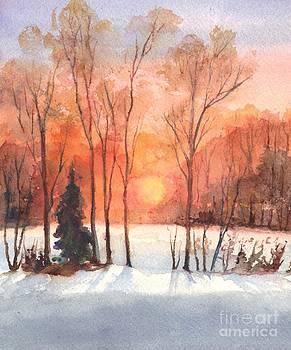 The Evening Glow by Carol Wisniewski